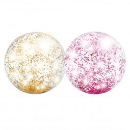 Un Ballon gonflable de plage glitter D 71 cm