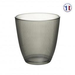 Gobelet concepto stripy gris 25cl