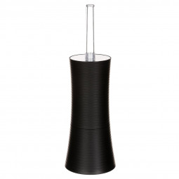 Brosse pour wc stripe noir