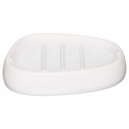 Porte savon silk blanc