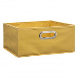 Boîte de rangement 31 x 15 jaune