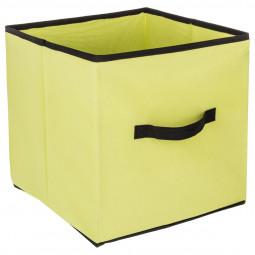 Boîte de rangement vert 31x31
