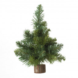 Sapin de table artificiel Vert H 25 cm collection blooming