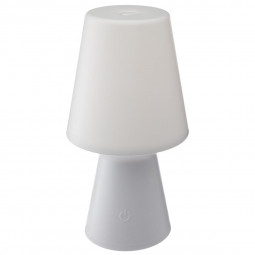 Lampe blanche à LED Wiza H 23 cm