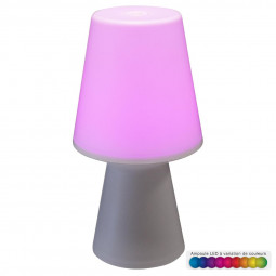 Lampe à LED Multicolore Wiza H 23 cm
