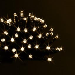 Guirlande lumineuse d'extérieur 80 LED Blanc chaud sur 8 Mètres