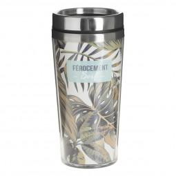 Mug Isolant en Inox45 cl collectionJangal